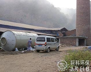 湖南省隆回砖厂脱硫除尘项目01