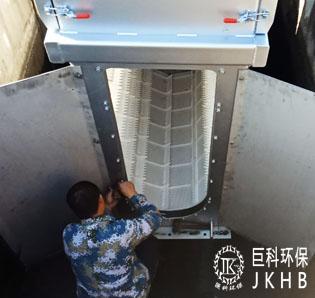 佛山市建南集团污水竞博国际注册细格栅改造项目03
