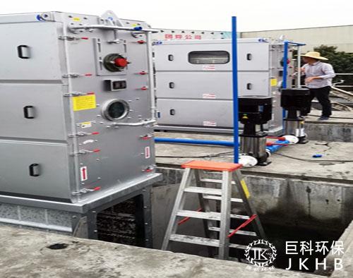 佛山市建南集团污水竞博国际注册细格栅改造项目06